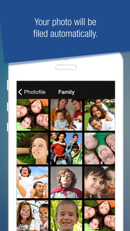 Photo File - Organize your photos before you even snap a shot