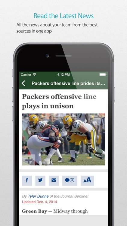 Green Bay Football Alarm Pro