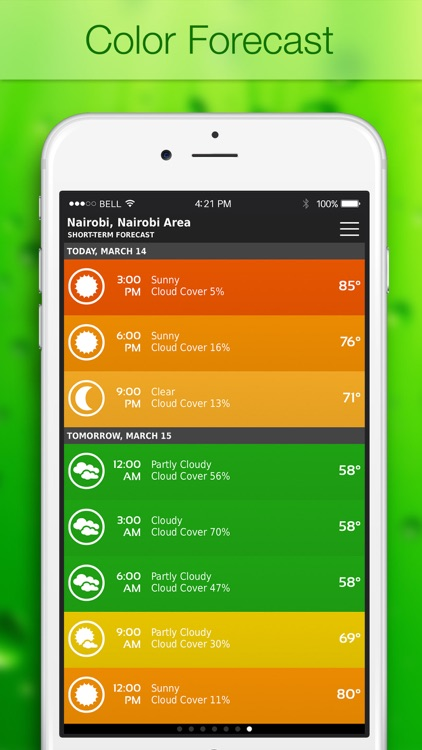 ClearWeather — Color Forecast screenshot-0
