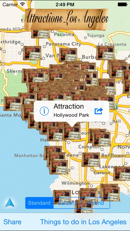 Attractions Los Angeles screenshot-0