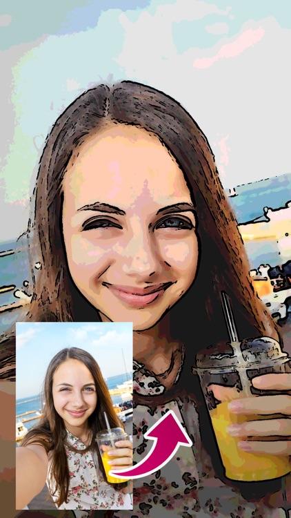 Cartoon Selfie Camera