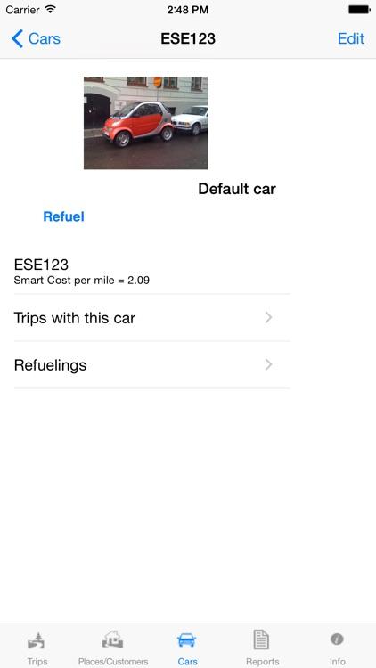 Travelreporter GPS milage log screenshot-4