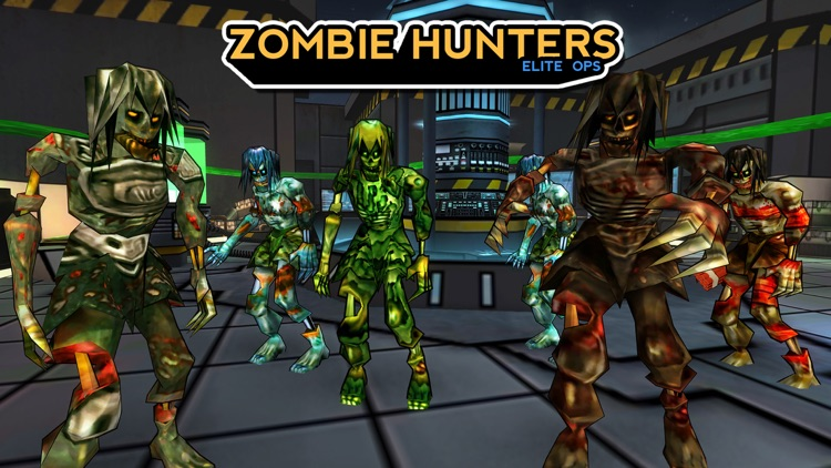 Zombie Hunters 3D: Elite Ops screenshot-4