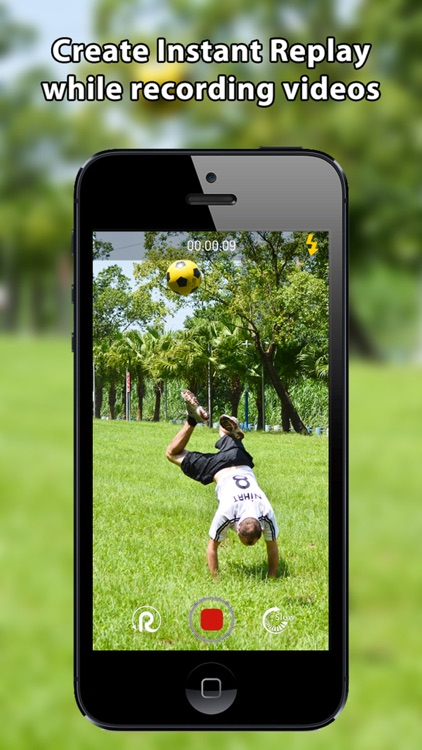 Slowlution - Real time slow motion & Instant Replay Camera and Video Editor