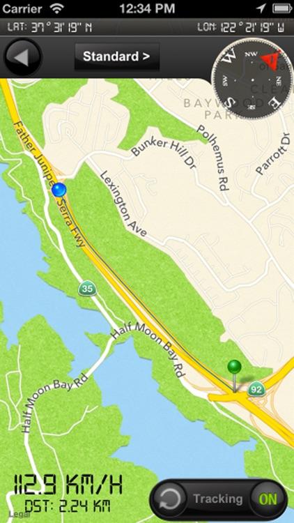 Speedometer s54 Free (Speed Limit Alert System) screenshot-4