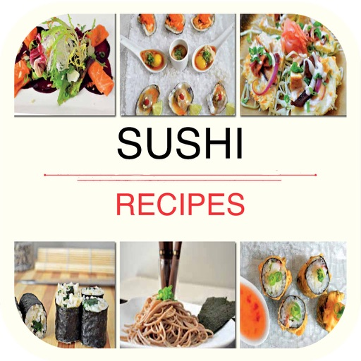Sushi Recipes for iPad