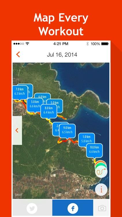 Moves Tracker: Running, Cycling, Walking, Jogging screenshot-3