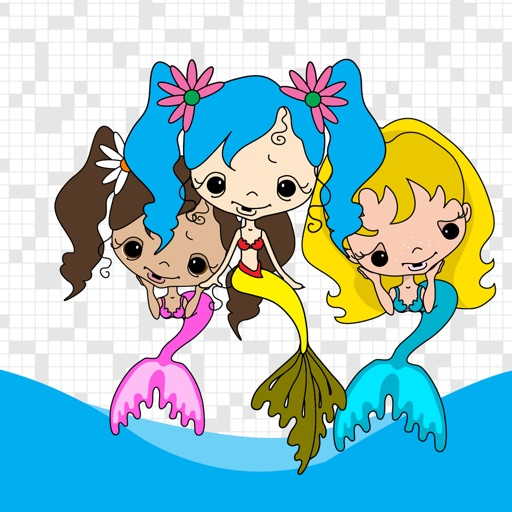 Mermaid Matching Pictures Game for Kids iOS App