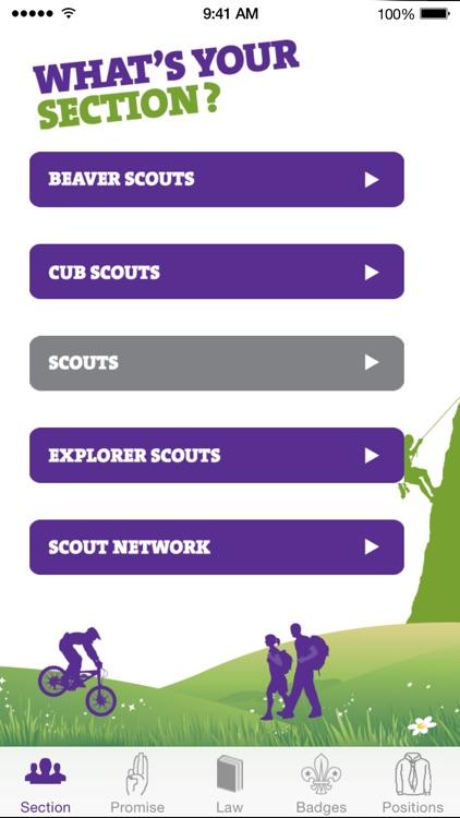 My Badges - The Scout Association (UK Programme) screenshot-0