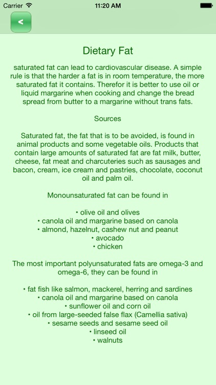 Diligent Dietitian Nutritional Guide screenshot-3