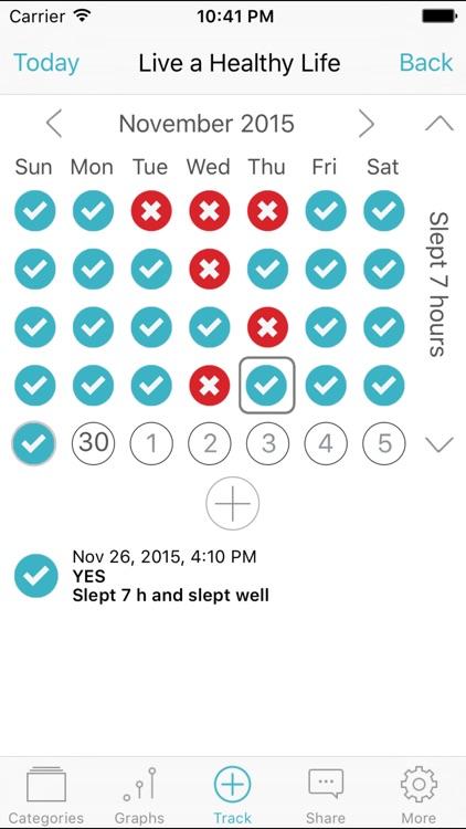 Habits Pro - Habits of Health screenshot-0