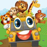 动物车派对免费:有趣的游戏为学龄前的孩子