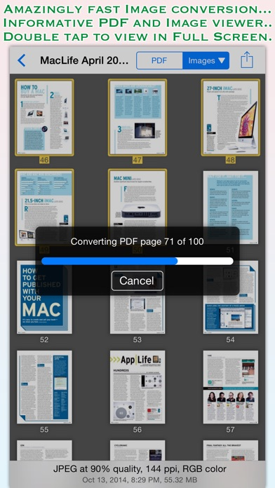 download PDF to JPG for iOS apps 4