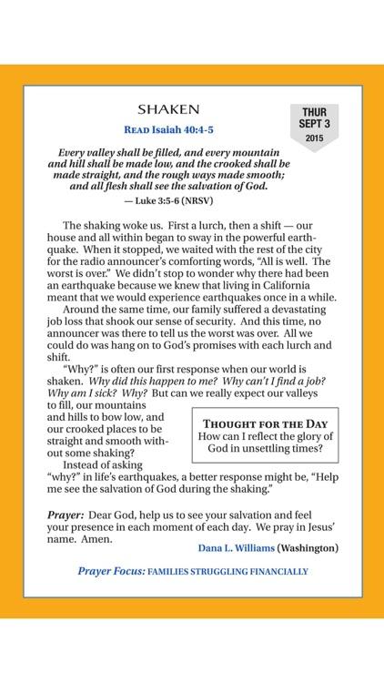 The Upper Room daily devotional guide digital magazine