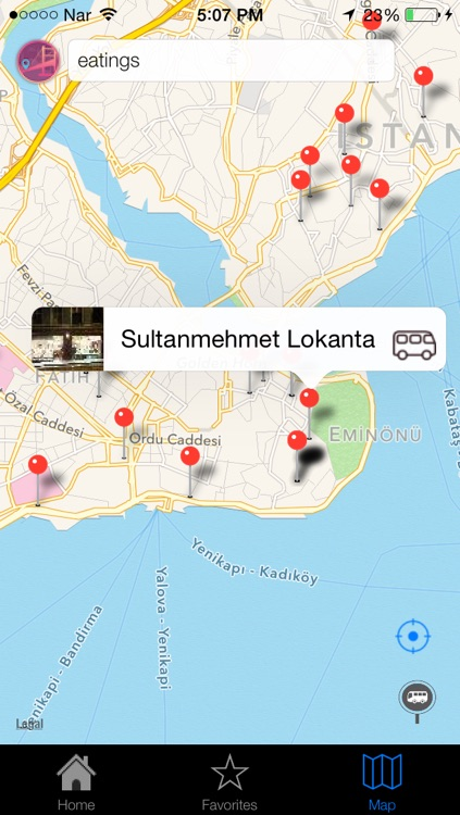 Istanbul Offline - Istanbul Cityguide For Sight Seeing, Shopping, Restaurant And Transportation With Offline Metro And Bus Maps screenshot-4