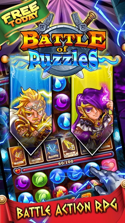 Battle of Puzzles RPG - Dungeon Wars & Epic Battles TCG