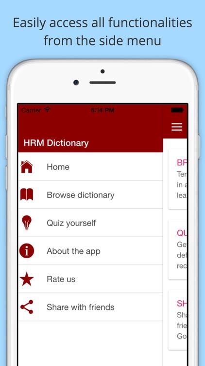 HRM Dictionary
