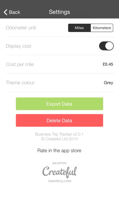 business trip tracker a simple mileage log app price drops