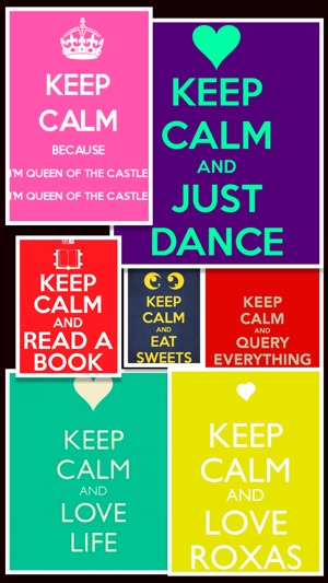Keep Calm Wallpapers And Posters Free On The App Store