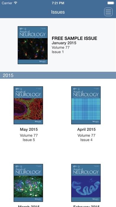 Annals of Neurology iPhone