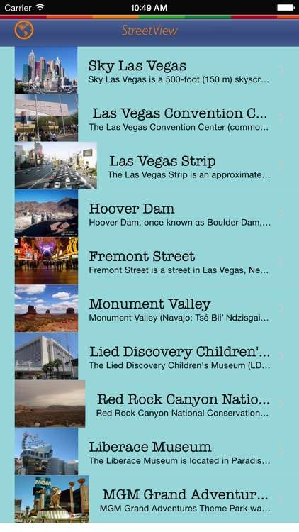 360 Tour Las Vegas: Best Offline Maps with StreetView and Emergency Help Info