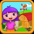 多拉动物农场小帮手 - 英语学习动物叫声儿童游戏免费 icon