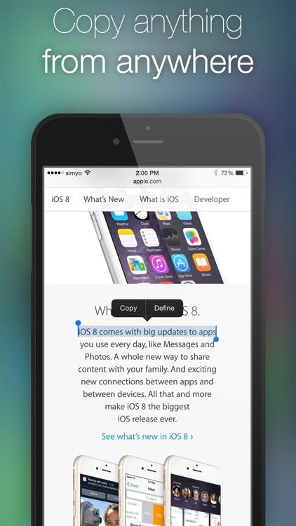 Copy & Paste | Clipboard Widget screenshot-3