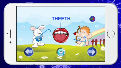 Learn English Body Listening and Speaking Free | Conversation Education for Preschool screenshot three