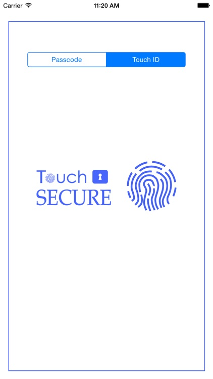 Touch Secure Notepad