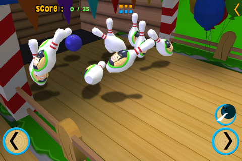 jungle animals and bowling for kids - no ads screenshot 4