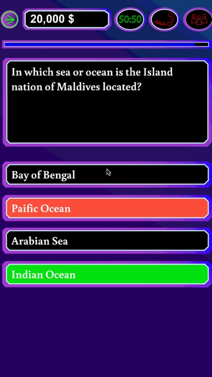 Millionaire Quiz Game Free screenshot-4