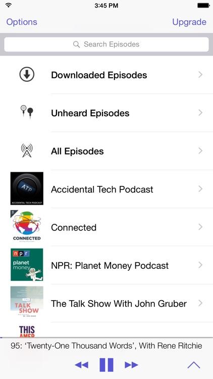 Pod Wrangler - Podcasts Made Easy. screenshot-4