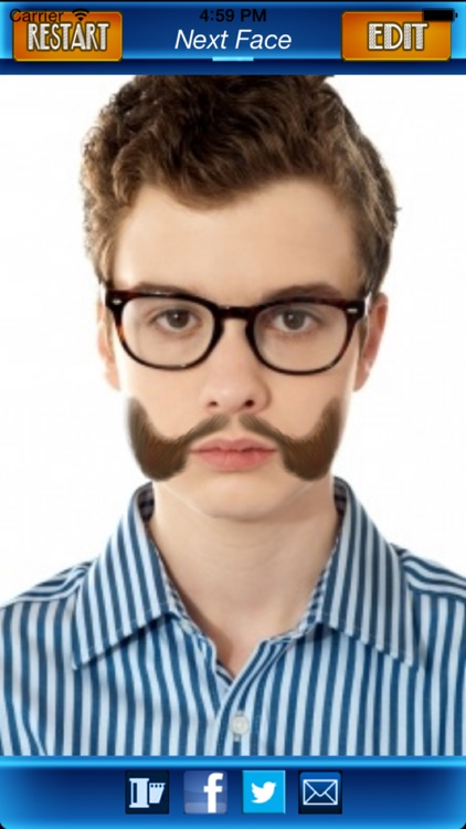 Mustache Photo Fun: Blend a Free Cool Mustache with your Photo screenshot-4