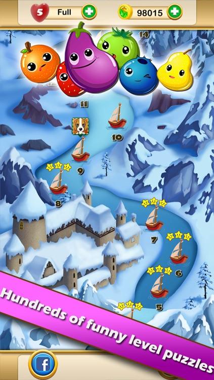 Fruit Legends™ - Free match-3 splash game(200+ levels)!