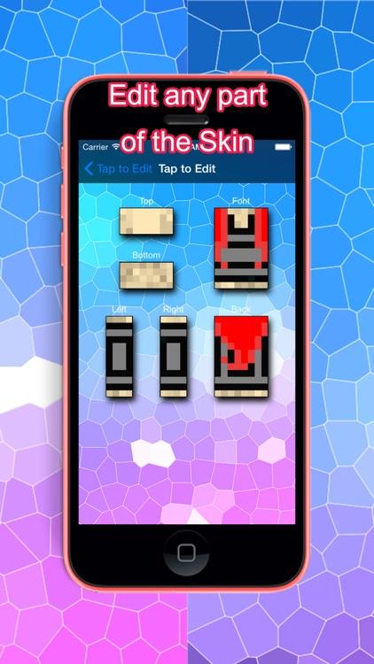 PE Girl Skins for Minecraft Pocket Edition screenshot-4