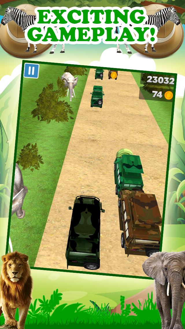 エンドレスリアルアドベンチャーシミュレータードライビング無料で3Dサファリジープレーシングゲームのおすすめ画像2