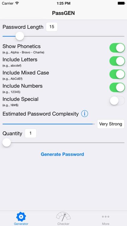 PassGEN Password Suite screenshot-0