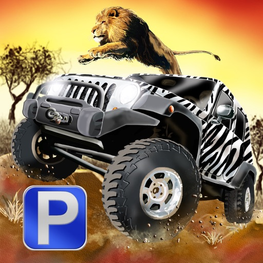 3D Safari Parking PRO - Full Wildlife Explorer Lion and Elephant Simulator Version icon