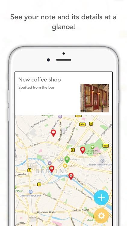 NoteSpot - Write a note, save its location! screenshot-4