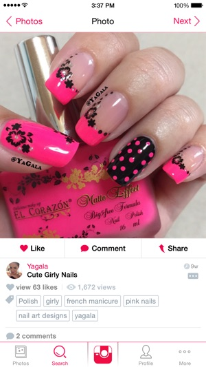Nail Art Gallery On The App Store