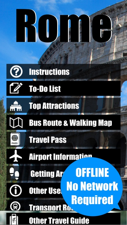 Rome Vatican travel guide and offline city map - italy ATAC Trenitalia metro subway maps & guides screenshot-0