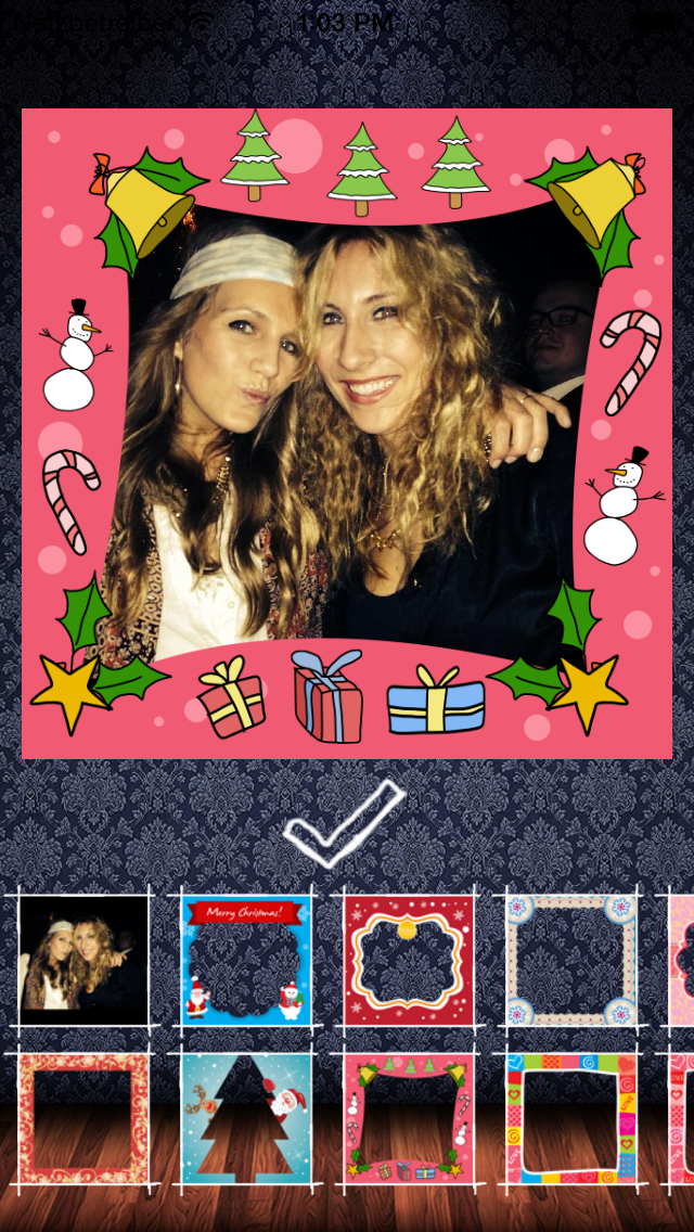 Frame my Christmas photo – your digital Xmas framing editor for pictures and photos screenshot four