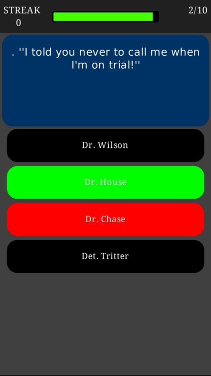 Trivia for House MD - Fan quiz for the American medical-drama television series screenshot-4