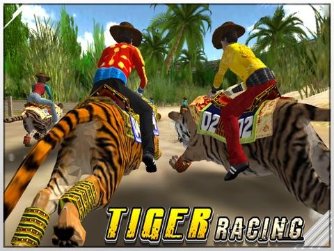 Tiger Racing 3D на iPad