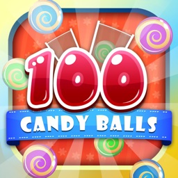 100 Candy Balls Classic Free - Catch And Collect The Falling Jelly Sweet Candy Ping Pong Balls