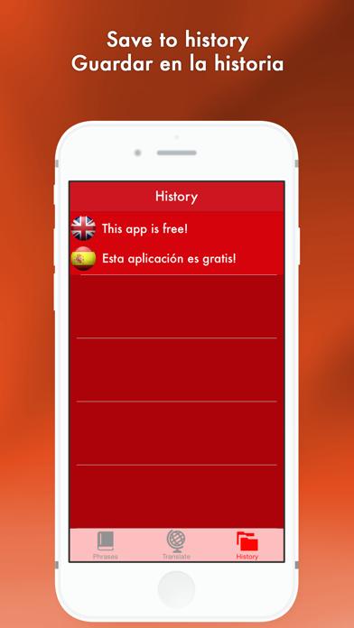 Hello Hola - English to Spanish translator/Español al traductor de Inglés Screenshot on iOS