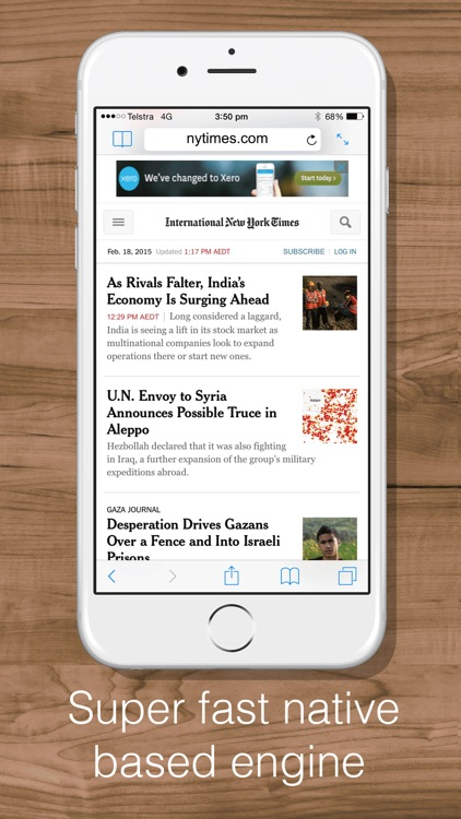 Split Web Browser Free: Fast Multitasking and Full Screen Multiple Tab Browsing for iPhone and iPad