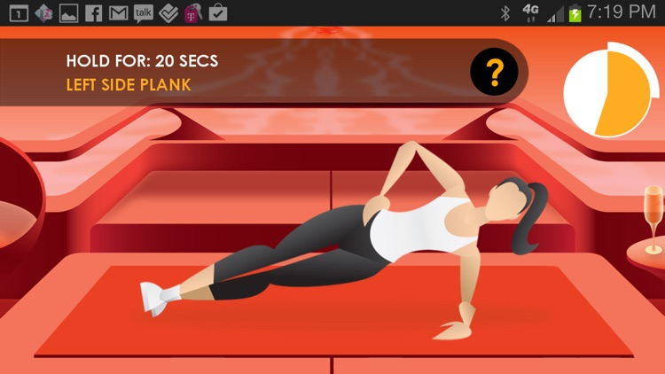 20 Minute Workouts Free: Power 20 screenshot-3