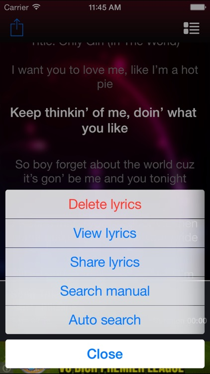 Lyrics Plus -auto search lyrics, display highlights lyrics with song