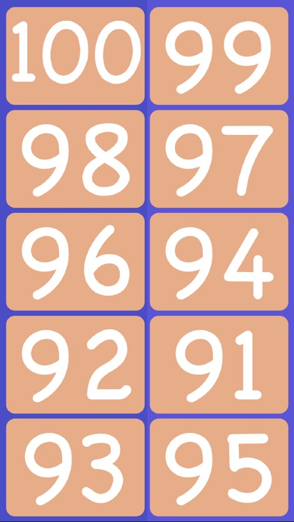 1 to 100 - Help your kids learn to count to 100, one number at a time! screenshot-3